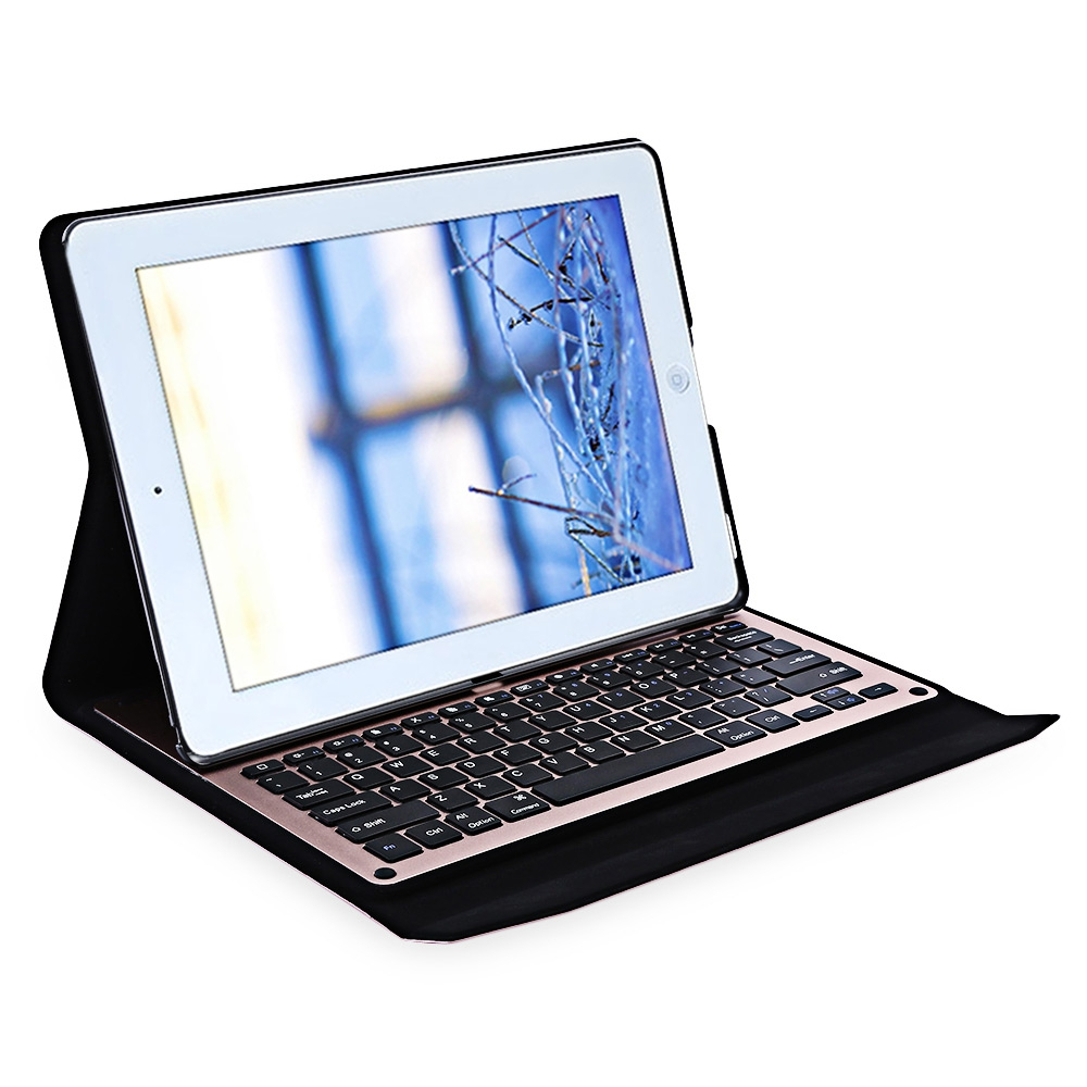 12.9 High Quality Slim Aluminum LED Wireless Bluetooth Keyboard Tablet Case for iPad Pro 12.9 Bracket Stand Case Cover 10 50 meters pack 1m per piece led aluminum profile slim 1m with milky diffuse or clear cover for led strips
