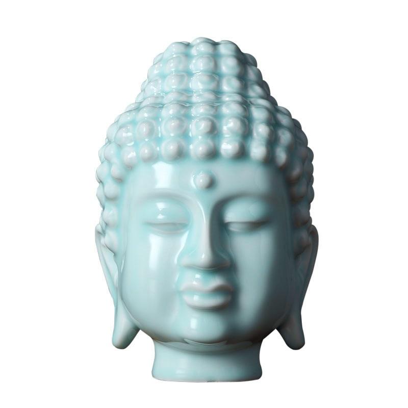 Only buda buddista budismo cabeza estatuas arte for Decoracion del hogar facil y economico