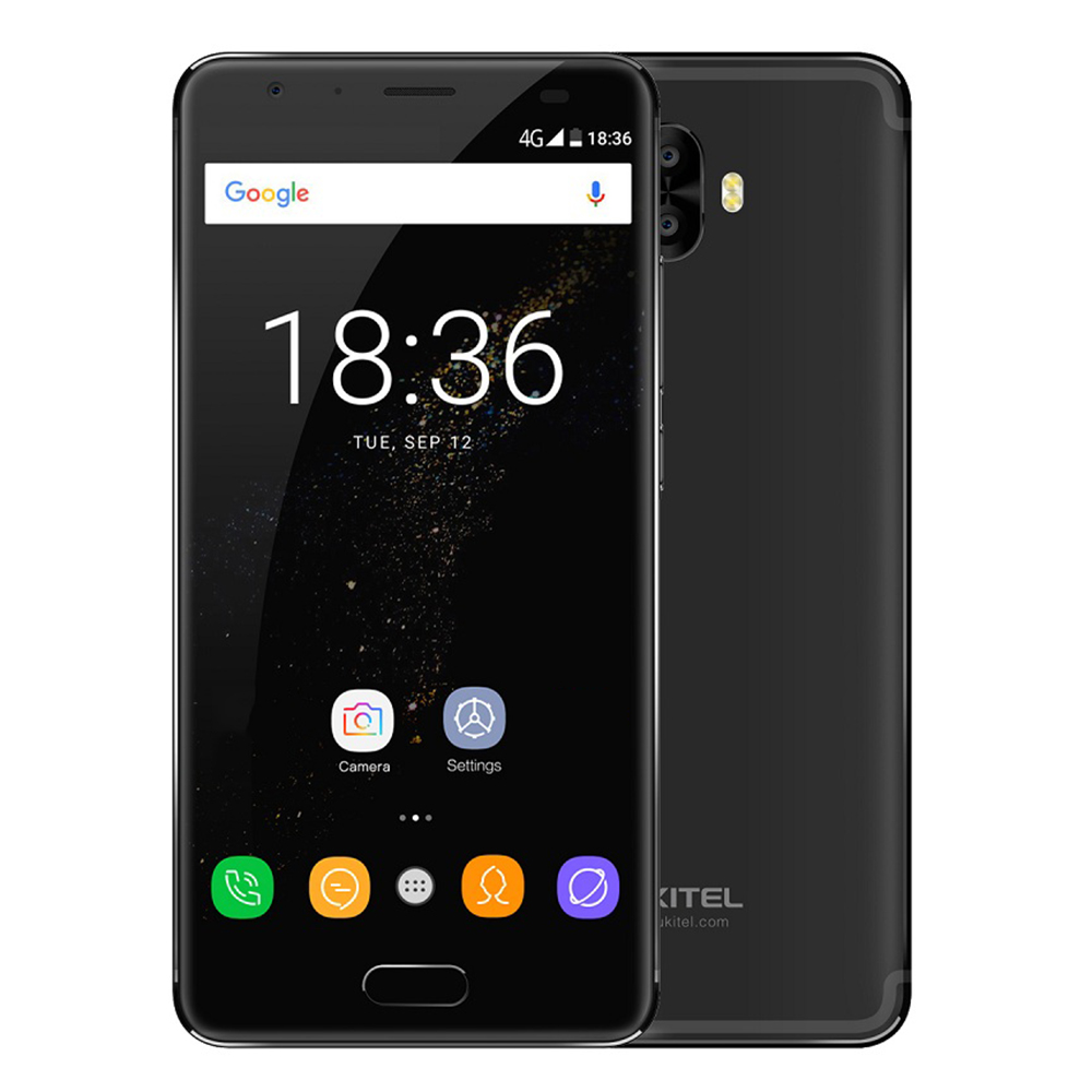 OUKITEL K8000 4G Phablet Smartphone Android 7.0 5.5 Pouces MTK6750T Octa Core 4 GB RAM 64 GB ROM 8000 mAh 13.0MP 16.0MP Arrière Caméras