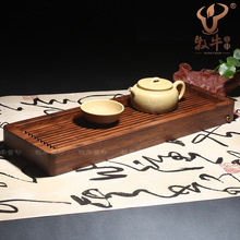 Yixing high-grade heavy bamboo tea tray line small bamboo tea shop tea accessories wholesale prices