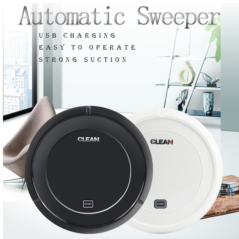 OP-S04 Vacuum Cleaner Robot Dry Mopping Smart Sweeper USB Charge