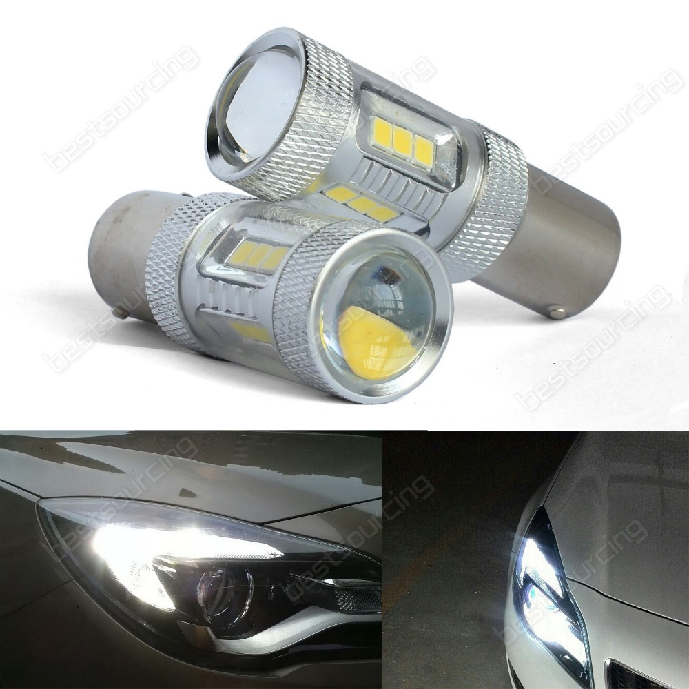 2x white 382 P21W 1156 BA15s Bulb SAMSUNG LED Sidelight Turn Indicator Light DRL(CA221) напольный светильник p 382