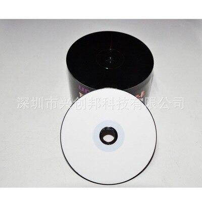 25 Discs bán buôn Trống Đen và Trắng Có Thể In 700 MB CD-R Đĩa