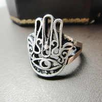 Accesorios al por mayor y la mano de Fátima restaurando maneras antiguas anillo de HAMSA