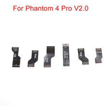 Комплект плоских кабелей для DJI Phantom 4 Pro V2.0, запасные кабели для P4P v2.0 Drone