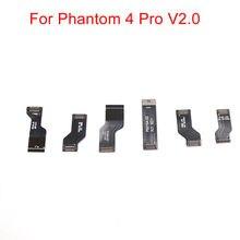 Genuino DJI Phantom 4 Pro V2.0 parte de avión cuerpo enrutamiento Cable plano conjunto de Cables de repuesto para Dron P4P v2.0