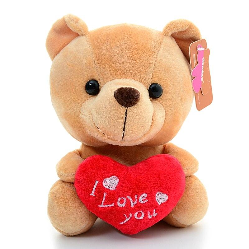 Gloveleya Plush Teddy Bear With Heart I Love Youfor Girlfriend