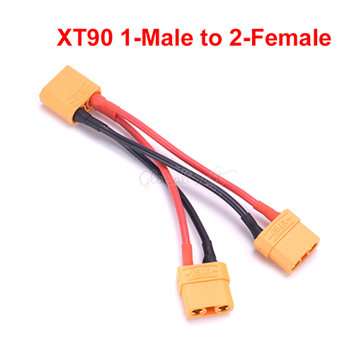 XT90 Разъем Женский/мужской с 14AWG провода/Traxxas разъем TRX стиль для RC Lipo батарея конвертер адаптер разъем - Цвет: Choice 5