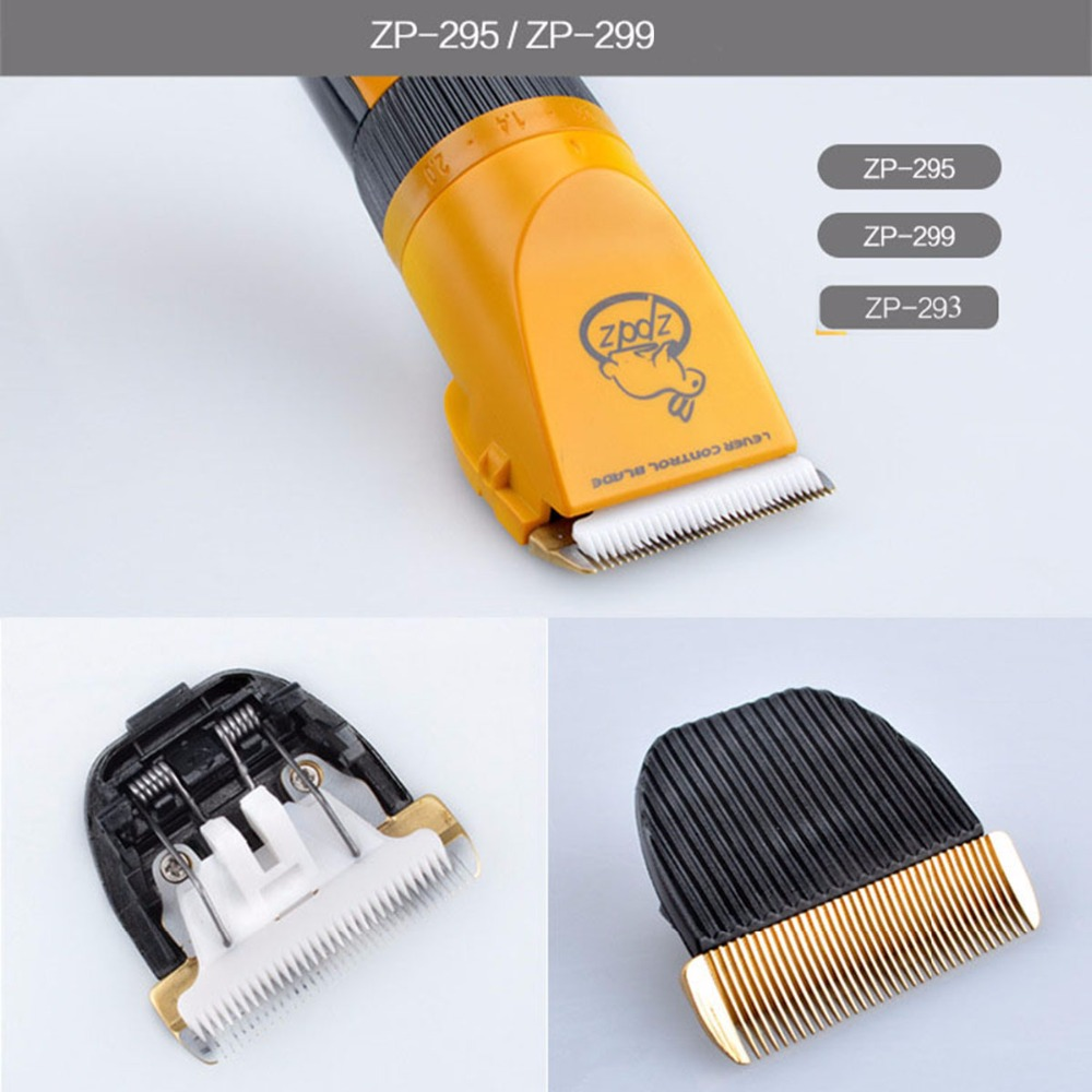 Original Electric Pet Dog Hair Trimmer Clipper Blade Head Animal Human Grooming Cutting Machine Accessories For LILI ZP-293 295