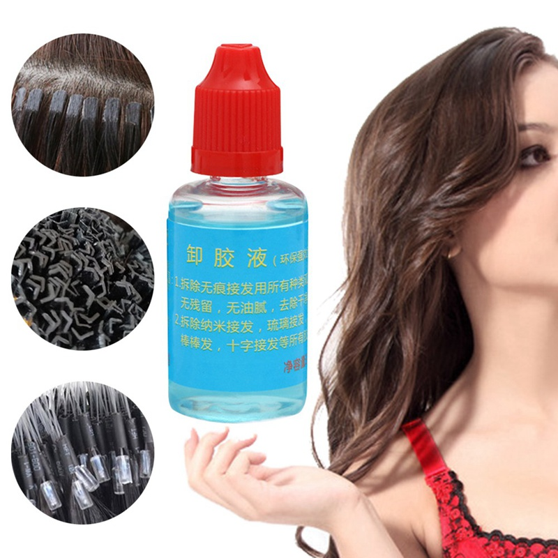 Hair Extensions & Wigs Fine 1 Bottle 30ml Pro Wig Hair Glue Adhesives Remover Fast Remove Hair Extension Tool Tape For Lace Wig Bond Toupee Accessory
