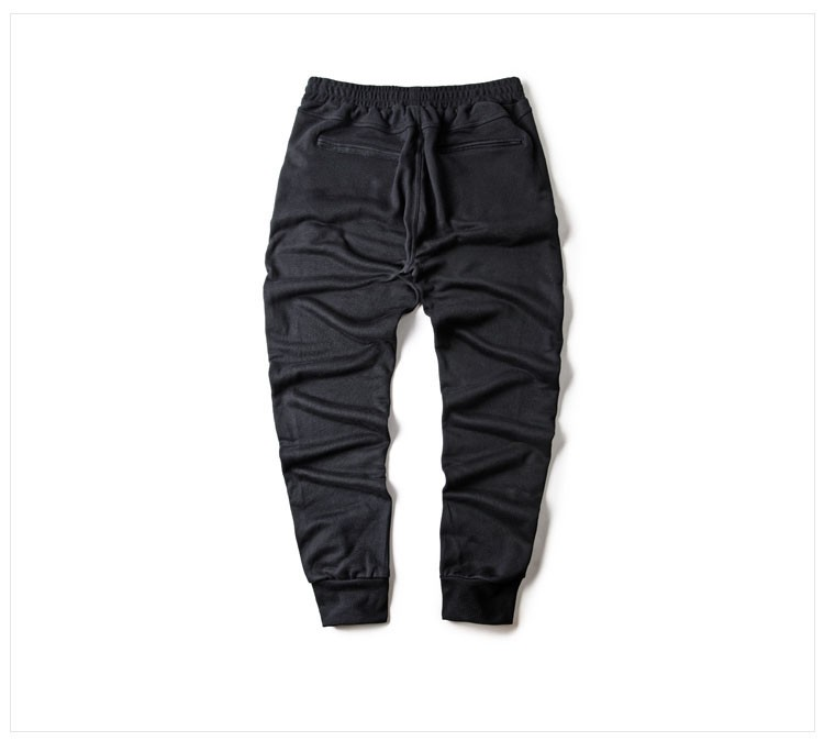 Men Joggers Pants Hip Hop Fashion Sport Skinny Sweatpants Casual Military Jogging Trousers Black beam foot trousers M-4XL (4)