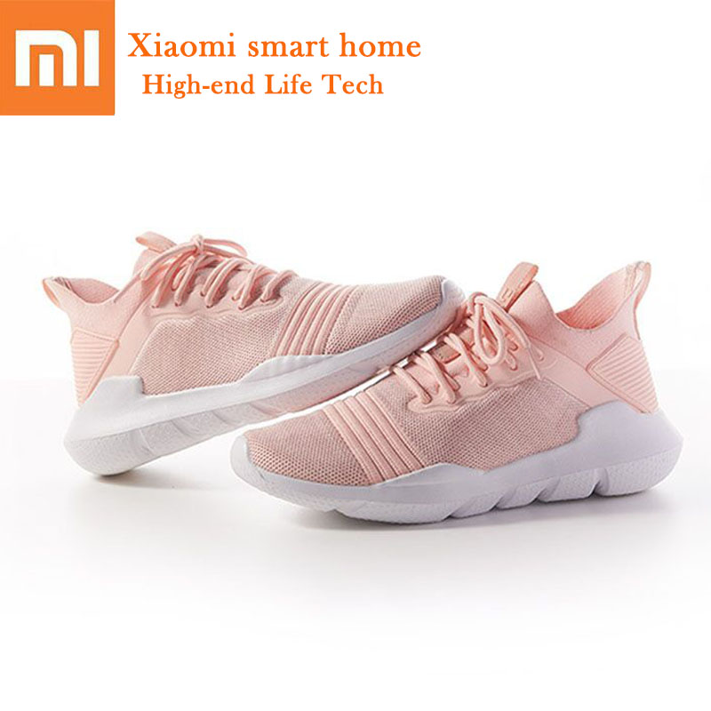In stock Original Xiaomi Mijia Uleemark Lightweight Casual Shoes High elasticity soles breathable Woven sneakers for