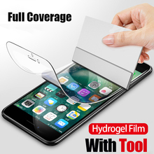 10D Soft Hydrogel Film For iphone 8 7 6 6s Plus X Full Cover Screen Protector XS Max XR Protective Not Glass