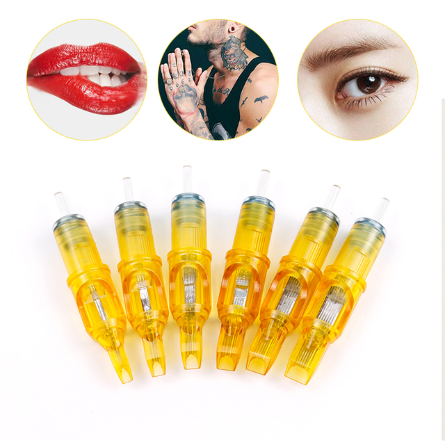 Plasma Pen Tattoo Needle M1/RM/RS/RL Eyebrow Needle Tattoo Gun Supplies Disposable Semi-Permanent Makeup Tattoo Cartridge Needle 1