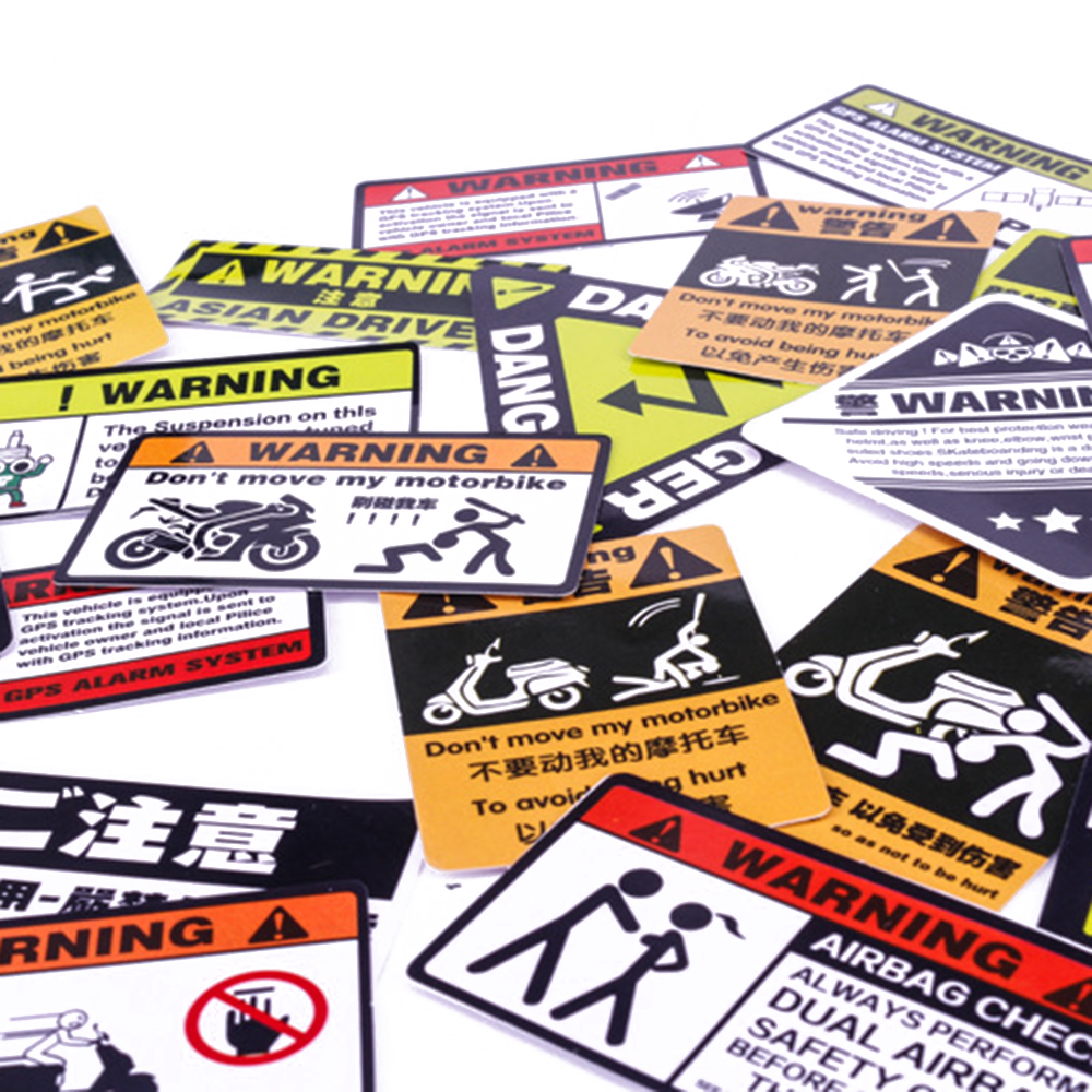 Motorcycle Sticker Car Sticker Unit Scooter Decals Motorbike Waterproof About 6-10cm Pegatinas For Honda Suzuki Kawasaki Yamaha
