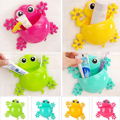 Online Get Cheap Frog Bathroom Sets  Aliexpress com   Alibaba Group 2017 Cute Frog Bathroom Gecko Wall Toothbrush Tooth Brush Holder Suction  Cup Holder Frog toothbrush holder. Cute Bathroom Sets. Home Design Ideas