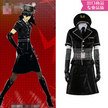Anime cosplay Persona 5 P5 Akira Kurusu Sexual turn dancing star night Joker Cosplay Costumes Black Uniforms A