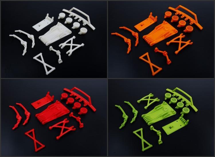 New product, BAJA 5B updated 5T High-strength front nylon bumper kits