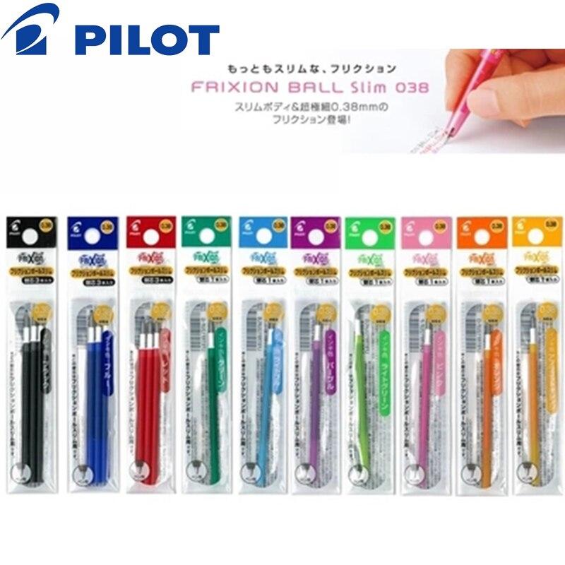 6 Pcs PILOT LFBTRF12UF Refill For Japan FRIXION Ball LFBTRF12UF 30UF Slim 0.38mm Roller Ball Pen  For Pilot LFBS-18UF