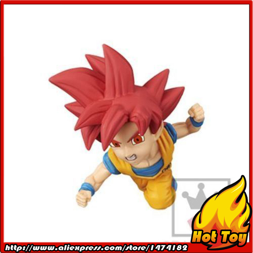 100% Original Banpresto WCF Complete Collection Figure  Vol.2 - Super Saiyan God Son Goku from Dragon Ball SUPER powers the definitive hardcover collection vol 7