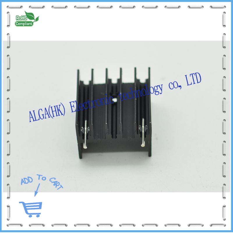 TO-247 ZIP quality aluminum radiator is also applicable L298 tube type heat sink etc and Free shipping .