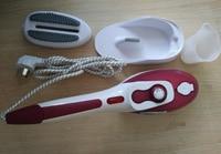 Dupla utilização portátil qualidade 3 engrenagens placa inferior cerâmica escova de vapor 220 V 800 W