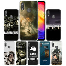 Band Of Brothers Case for Xiaomi Redmi Go Note 7 6 6A Pro S2 5 5A 4X Mi A1 A2 9 Mix 3 5G 8 lite Play F1 Hard PC Phone Cover Capa(China)