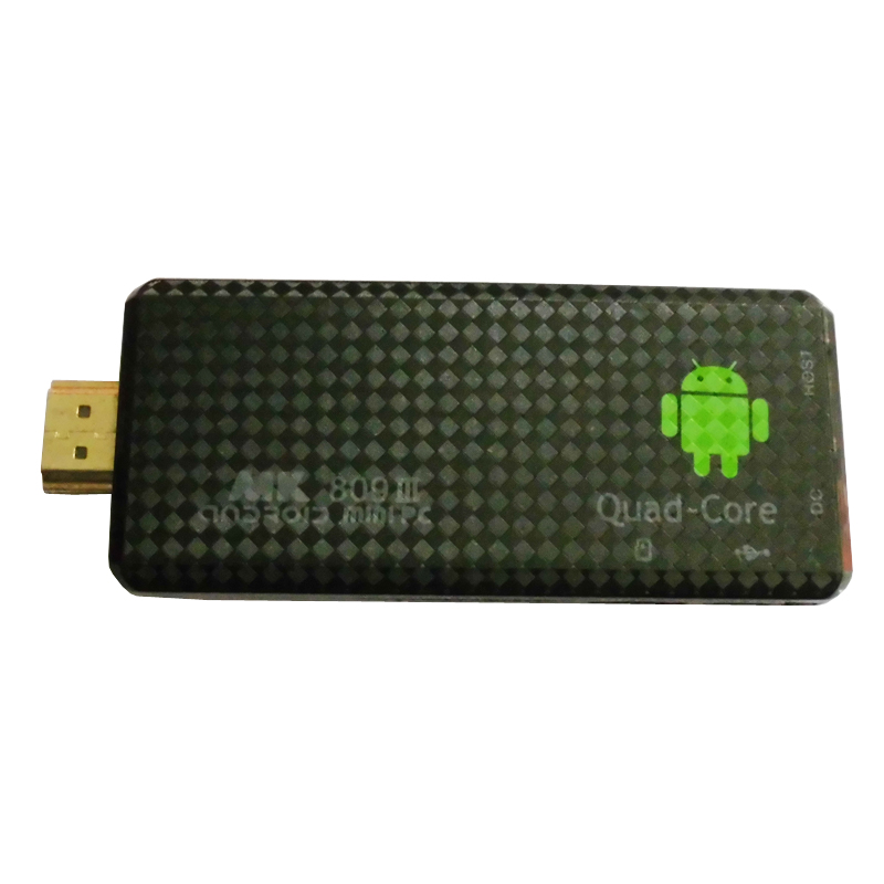 Android 4.2.2 mini PC Quad core RK3188 Google TV Box MK809III 2GB RAM 8GB ROM Bluetooth Wifi HDMI XBMC tv stick MK809 III