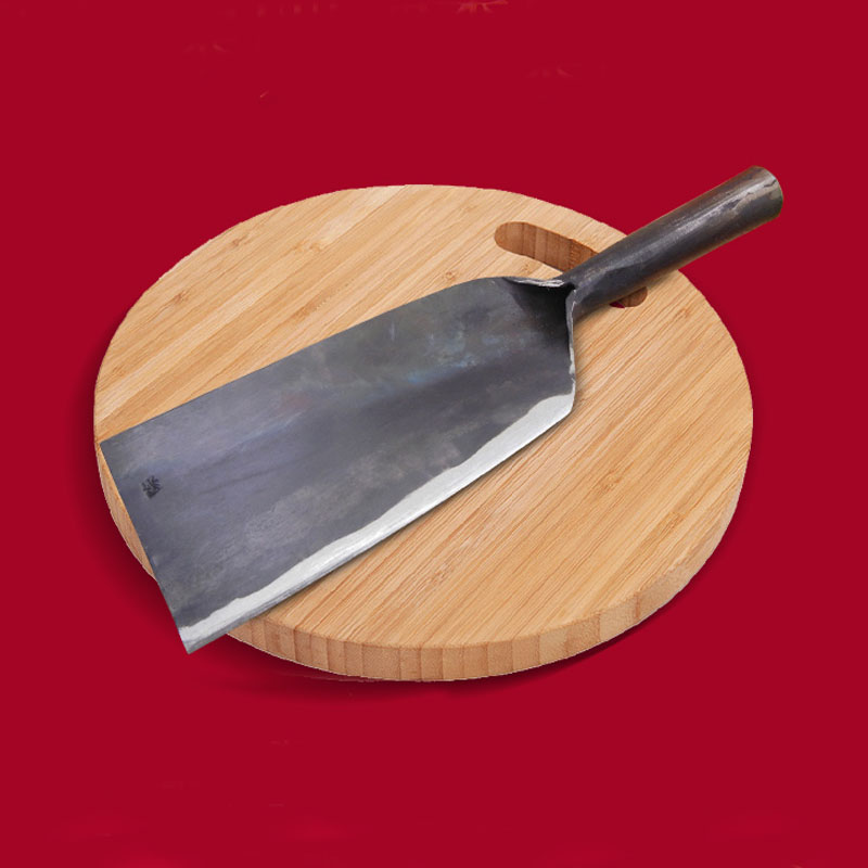 Free Shipping Liang Da Chinese Style Shot Steel Forged Kitchen Cut Bone Knives Chef Slaughter Butcher