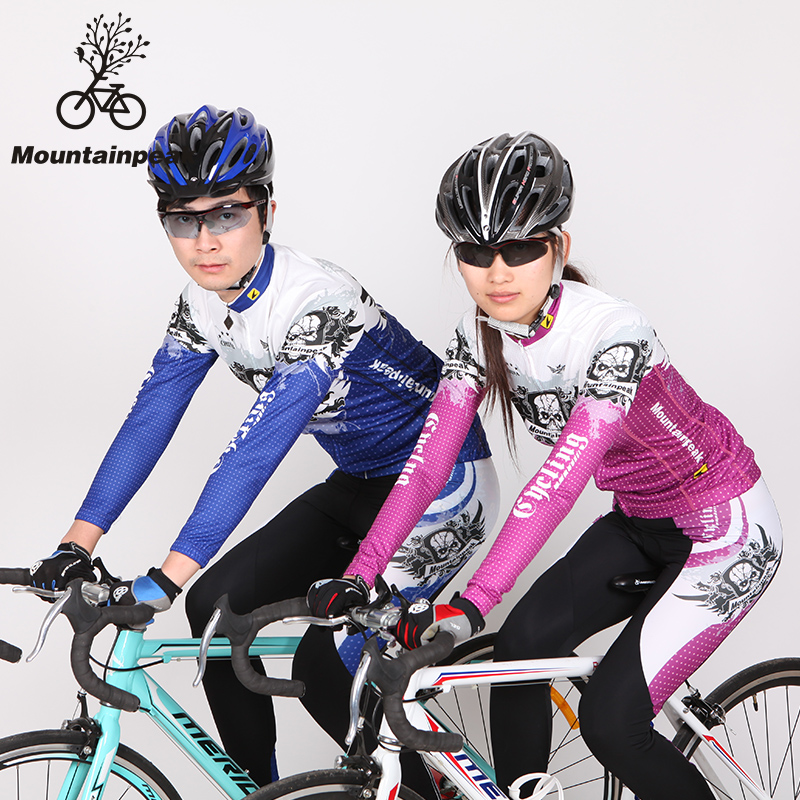 The New Spring and Summer Mountainpeak Riding Long Suit Cycling Shorts Bicycle Clothing for Men and Women