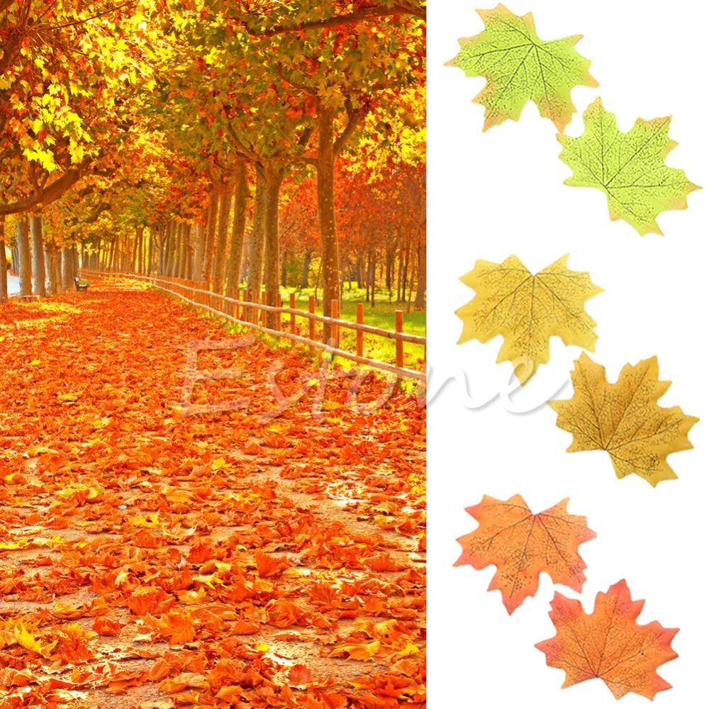 Leaves Decoration: Online Buy Wholesale Photo Fall From China Photo Fall
