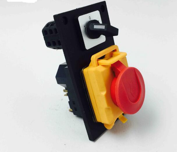 Electromagnetic switch rotary combined switch 7 Pin On Off 16A 230V with protection cover lock waterproof YCZ5-B 5pcs lot high quality 2 pin snap in on off position snap boat button switch 12v 110v 250v t1405 p0 5