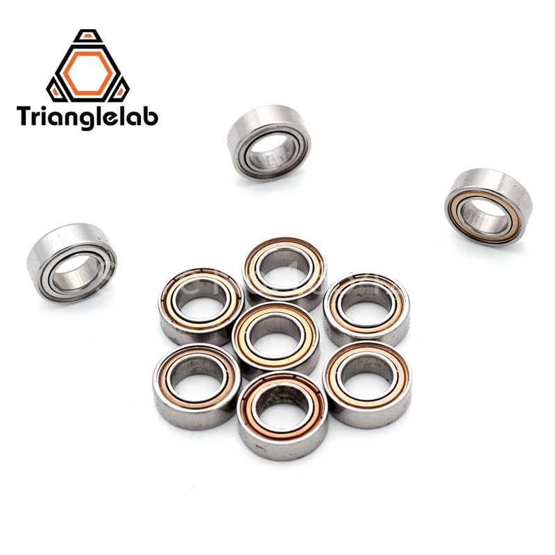 10pcs MR95ZZ L-950ZZ MR95 deep groove ball bearing 5x9x3 mm miniature bearing Trianglelab 3d printer parts цены