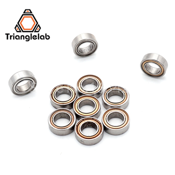 10pcs MR95ZZ L-950ZZ MR95 deep groove ball bearing 5x9x3 mm miniature bearing  Trianglelab 3d printer parts 10pcs lot 3d printer accessories bearing pulley bearing guide wheel extruder dedicated 608zz abec 7 deep groove