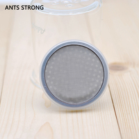ANTS STRONG Ice drip pot coffee screen filter/stainless steel cycling ice drop coffee filter accessories