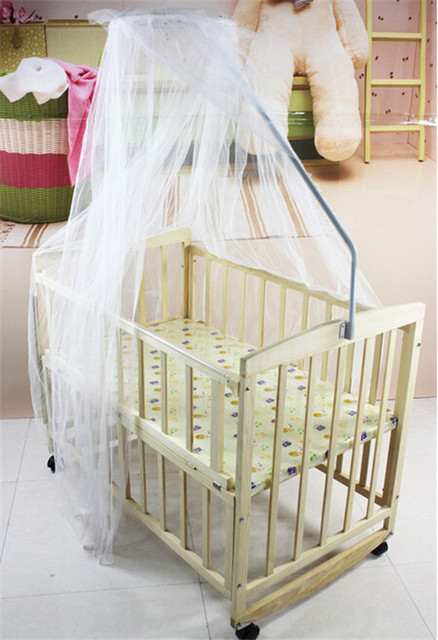 Hot new Summer Baby bed mosquito net Baby Toddler baby bed