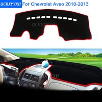 Car Styling Dashboard Protective Mat Shade Cushion Photophobism Pad Interior Carpet For Chevrolet Aveo 2010 2013