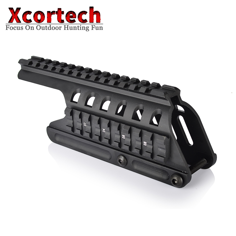 Tactical 20mm Double Picatinny Rail Mount System Fit For Remington 870 RM870  Scope