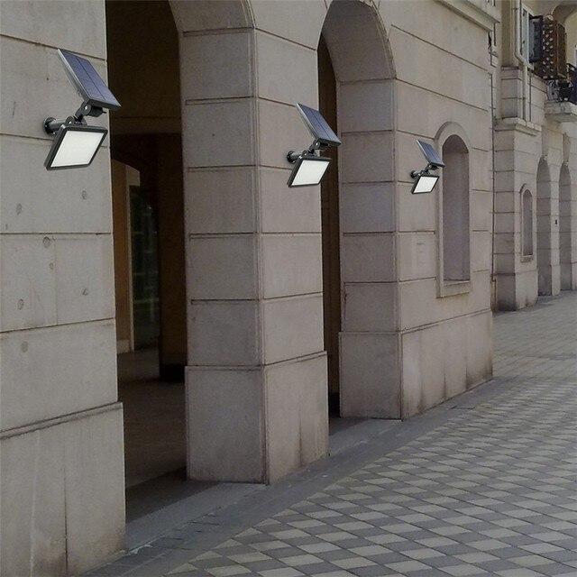 Lampe de Mur solaire Extérieure Applique Murale éclairage Pelouse