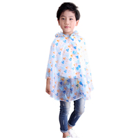 Children Plastic Raincoat Rain Coat Kids Boys Poncho Girl Cape De Pluie Women Waterproof Kids Raincoat