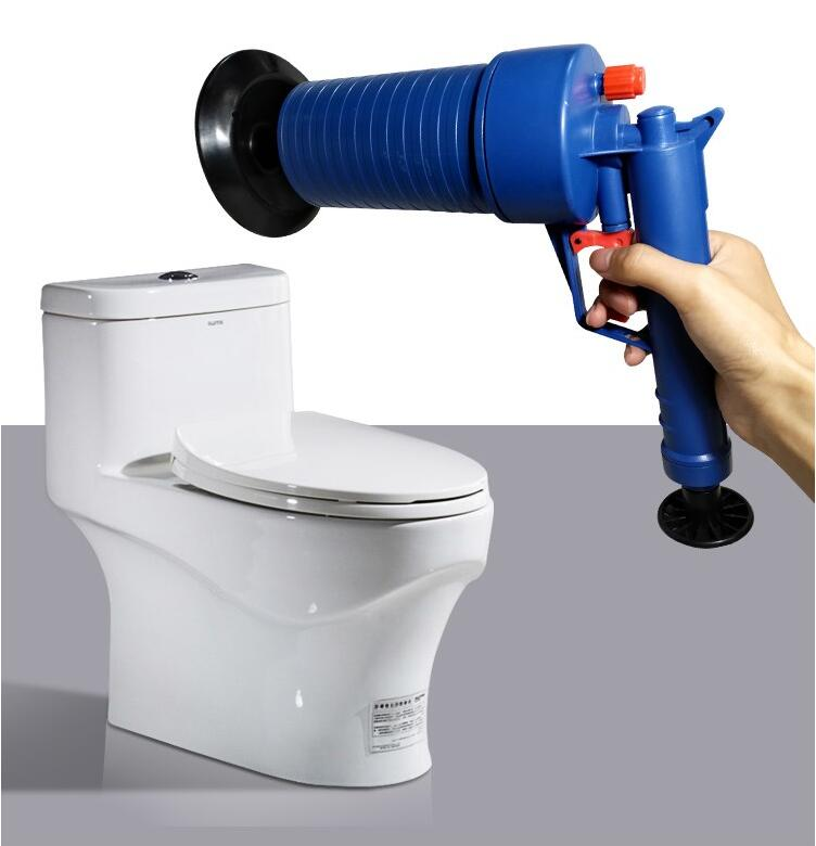 Air Power Drain Blaster Gun And High Pressure Sink Plunger And Cleaner Pump For Bathroom 7