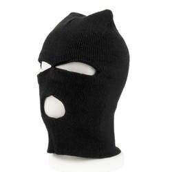 Маска для лица для велосипеда анфас Обложка лыж маска три 3 отверстие Балаклава вязаная шапка зима стрейч снег вязаная шапка с маской