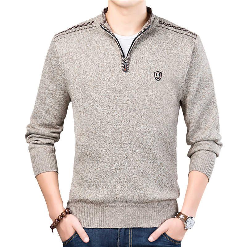 Dimusi 가을 겨울 남성 스웨터 남성용 터틀넥 솔리드 컬러 캐주얼 스웨터 남성 슬림 피트 브랜드 니트 풀오버 의류