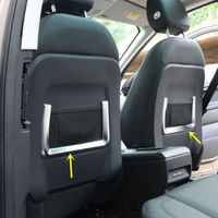 2pcs Chair Net Bag Decoration Frame For Land Rover Discovery Sport 2015