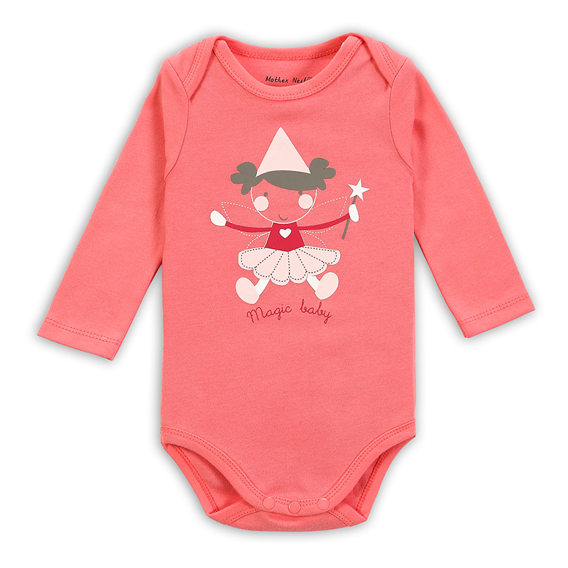 Spring Mather Nest Newborn High Quality Baby Girl Boy 100% Cotton Clothes 6 Colors Infant   Romper   Body Underwear Product