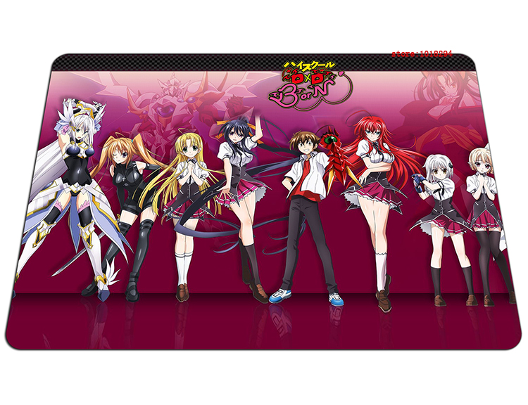 high school dxd mouse pad Thickened gaming mousepad High-quality gamer mouse mat pad game computer padmouse keyboard play mats