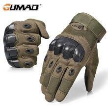 Открытый Сенсорный экран военно-тактические перчатки Армия Жесткий костяшки Спорт Пеший Туризм Охота Airsoft Велоспорт стрельба полный палец перчатки