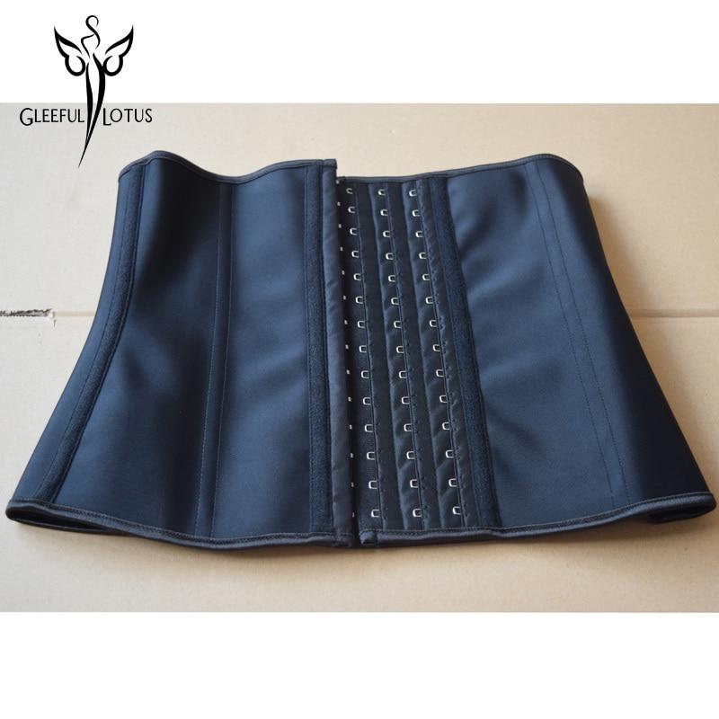 Plus size waist trainer korse women latex   corset   pink corsetti e   bustier   steel korset corpetes e espartilhos para festa corselet