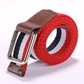 Plait Unisex Canvas Belt Designer Of High Quality Waist Straps For Men And Women Striped Fashion Male Female Belt For Jeans