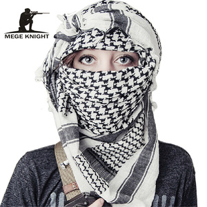 Image 1 - Airsoft Military Shemagh Thicken Muslim Hijab Multifunction Tactical Scarf Shawl Arabic Keffiyeh Scarves Fashion Scarf Women